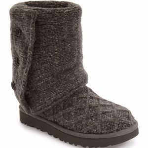 UGG Lattice Cardy UGGpure(TM) Knit Boot